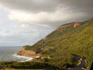 On the road between Cheticamp and Pleasant Bay